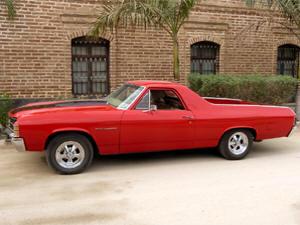 1971 El Camino in Todos Santos. The El Camino is For Sale!