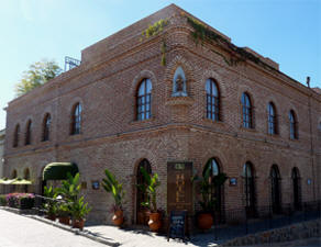 Restored historic building - Centro Todos Santos